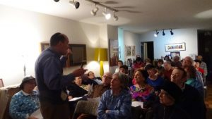 Rabbi Jonathan Rosenblatt Lecturing