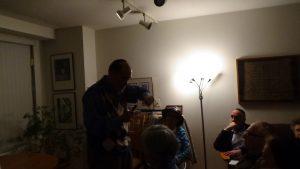 Rabbi Rosenblatt Speaking Haggadah